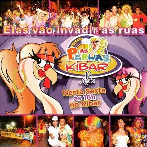 O tradicional bloco das Peruas com 12 anos de tradição vai abrir o Carnaval de Aquiraz hoje, 13 .