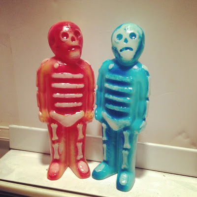 Frank Kozik x Mike Egan Bones Vinyl Figures - Hanta Virus & Hypothermia Editions