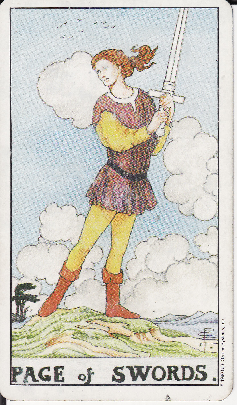 TAROT - The Royal Road: PAGE OF SWORDS