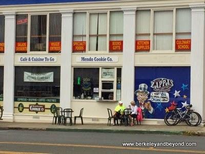 The Company Store restaurant complex in Fort Bragg, California