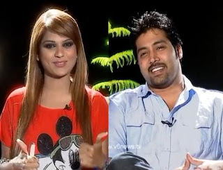 Hero Akash in Kathi Karthika Show
