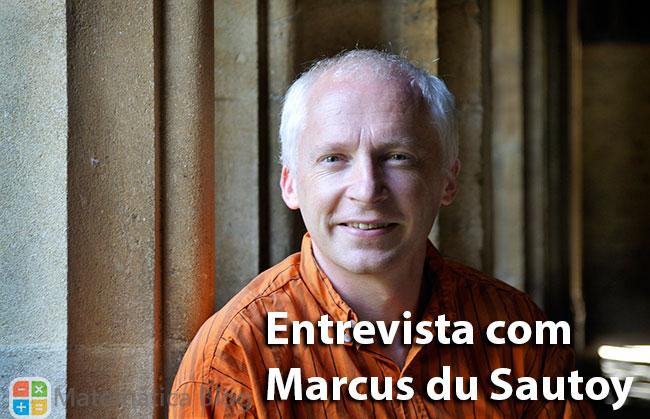 Entrevista com o professor Marcus du Sautoy