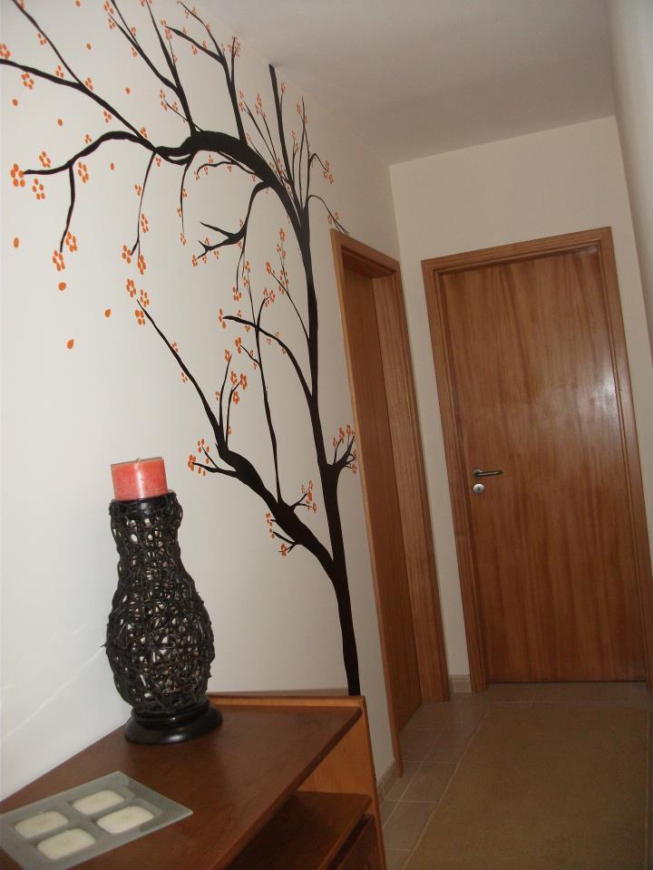 Jekarahandmade pintura em parede - Pintura lavable para paredes ...