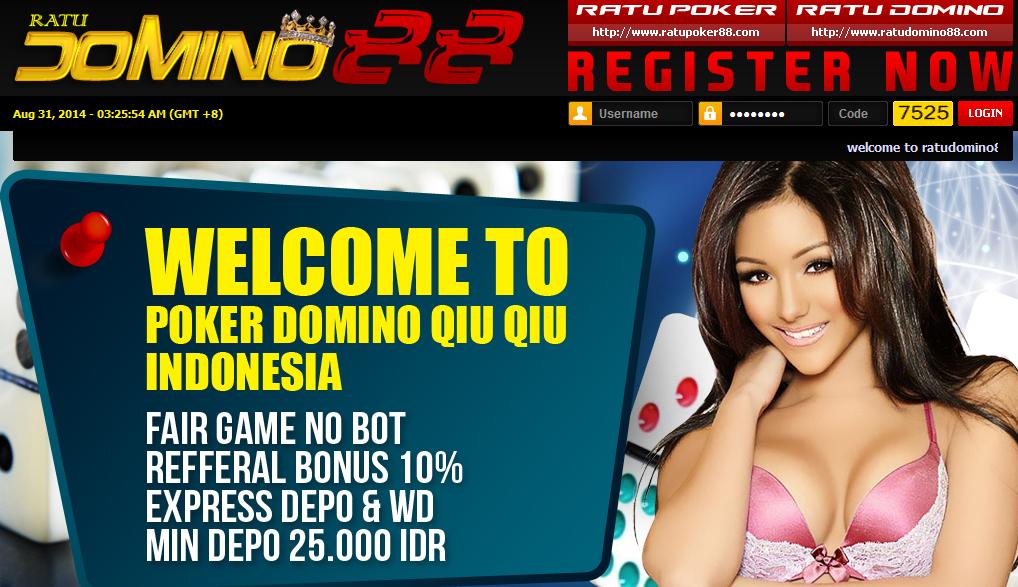 Daftar Situs Judi Domino Poker Online 99 Kiu Kiu Terbaru dan Terpercaya RatuDomino88.com