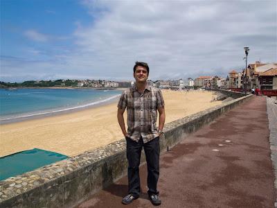 Paseo marítimo de San Juan de Luz
