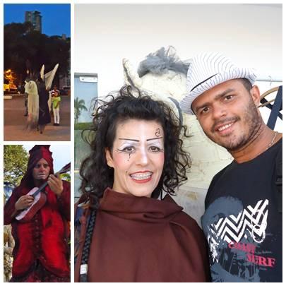 Xandy silva, Ao lado da atriz  Alessandra Carvalho Atriz do grupo O povo da rua