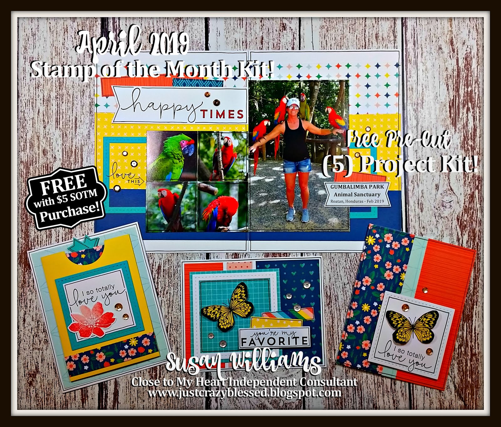 April 2019 Stamp of the Month Workshop!