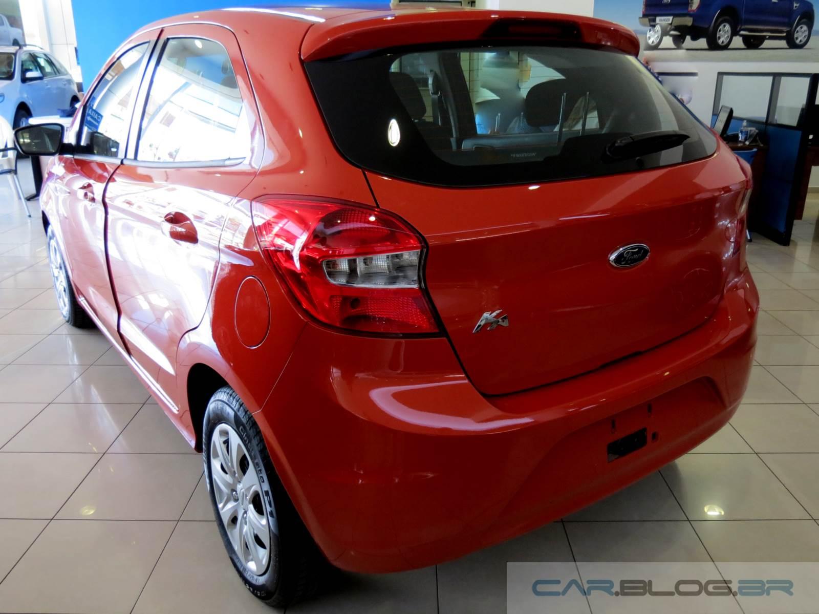Novo ford ka 2015 vermelho