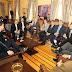 Paulo Câmara recebe a nova  Mesa Diretora da Alepe
