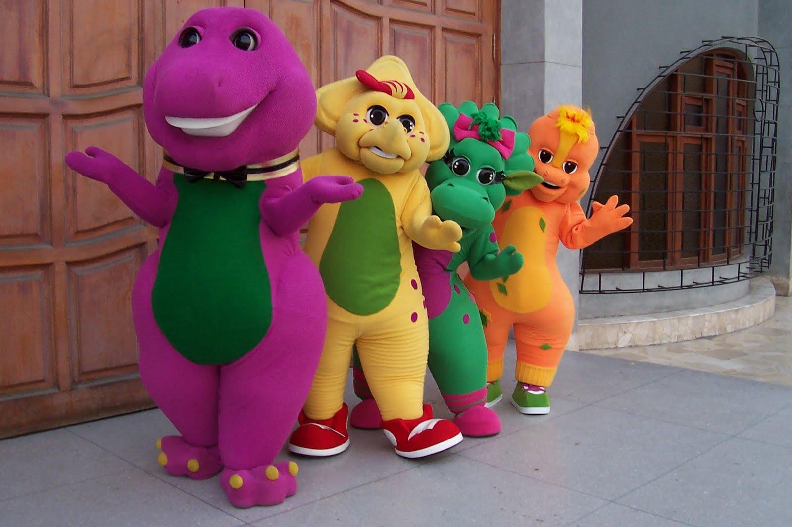 fotos de barny y sus amigos: