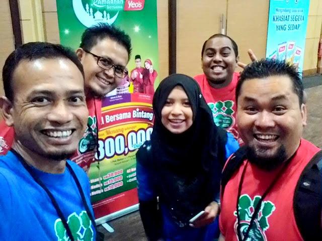 Blogger Malaysia di Kem Ramadan Yeo's 2015