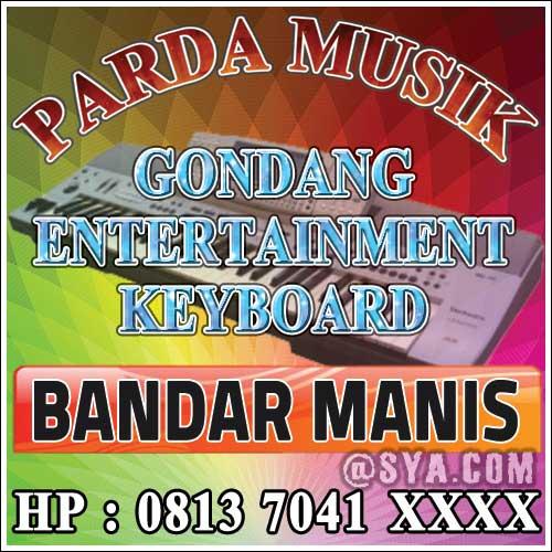 Spanduk Parda Musik