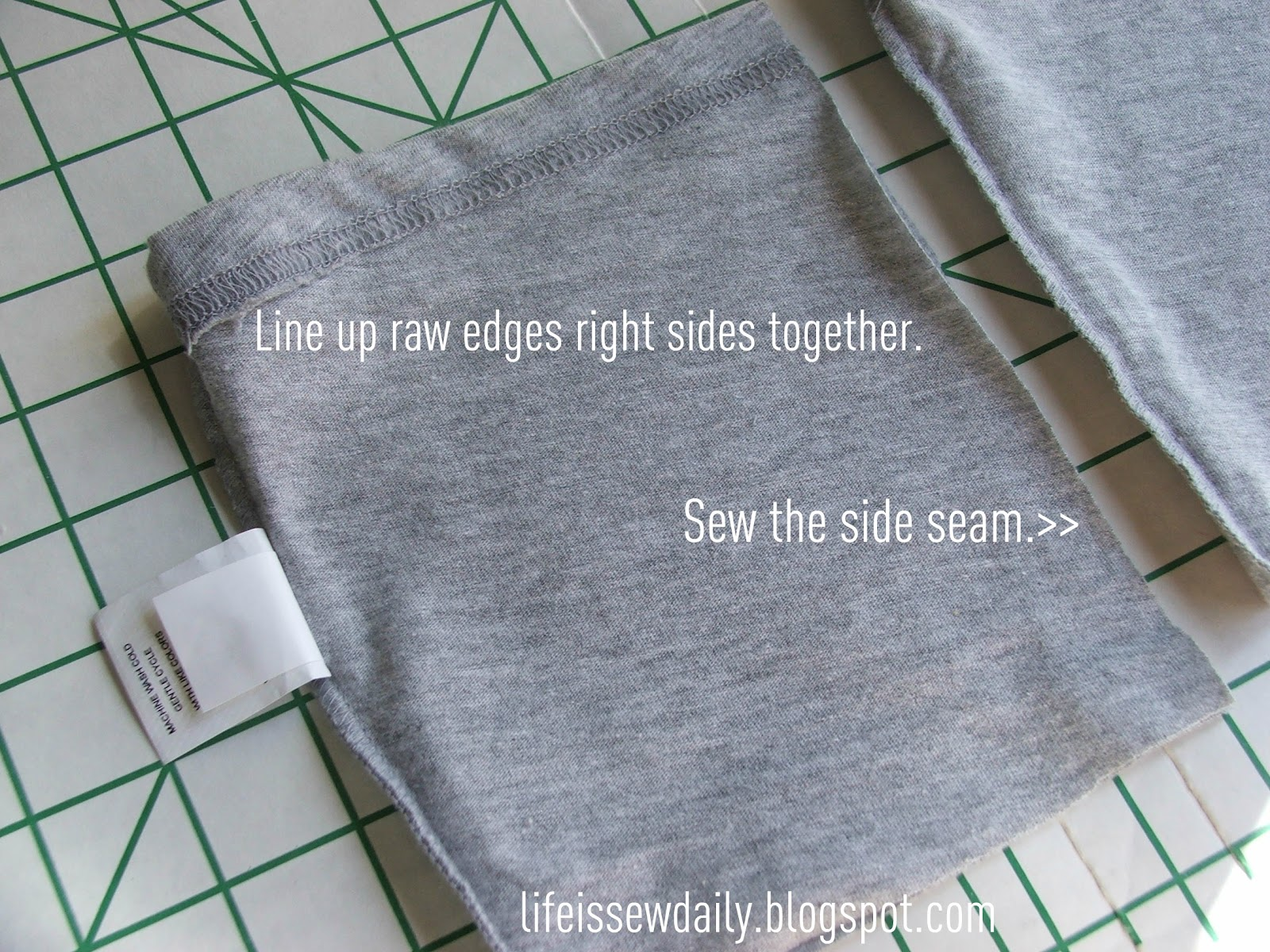 how to cut stretchy fabric