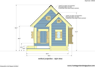 Home garden plans dh300 dog house plans free how to - Small dog house blueprints ...