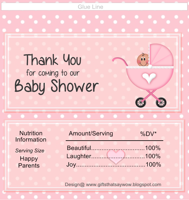 Revered image within free printable baby shower candy bar wrappers