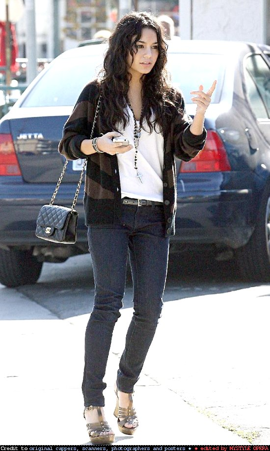 Young Style Model Vanessa Hudgens Style