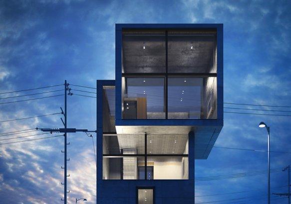 Casa 4x4 i y ii de tadao ando blog arquitectura y dise o for Diseno de casa de 4 x 20