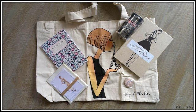 My Little Box Couture septembre, sac Kanako, carnet liberty