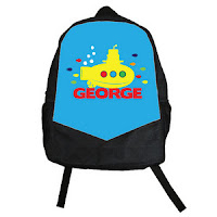 Psychobaby Lil Yellow Sub Backpack Blue