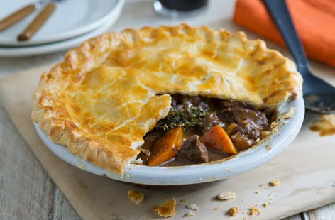 LadySpace: Steak and Guinness Pie