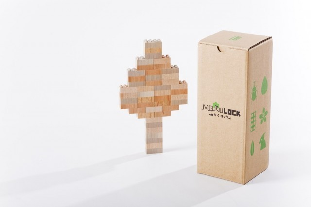 Mokulock, bloques de madera, lego, block, japon, japan, kids