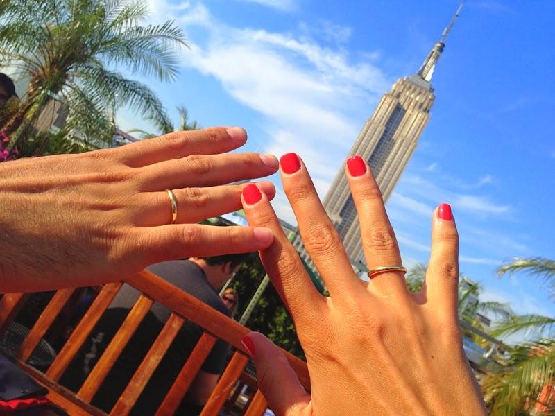 Nuestra Boda En New York Vestido Por Mar 237 A Baraza El