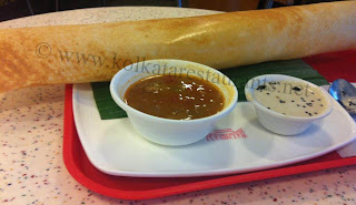 Masala dosa South Indian Cuisine food at Kolkata haldiram's chowringhee