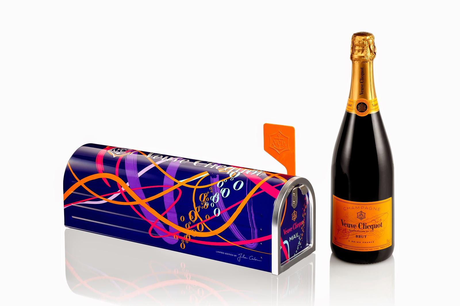 Lulu Frost X Clicquot Mailbox