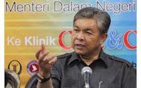 Menteri Dalam Negeri Datuk Seri Zahid Hamidi