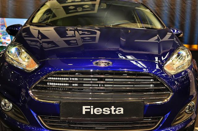 Ford Fiesta Titanium 2014 grill