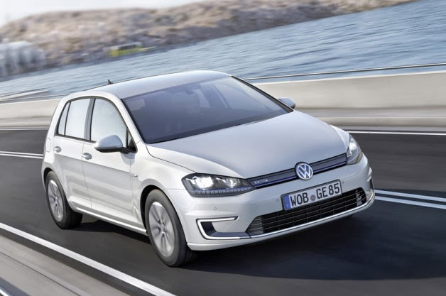 Volkswagen Launch E Golf In Germany With 190 Km Range Electric
