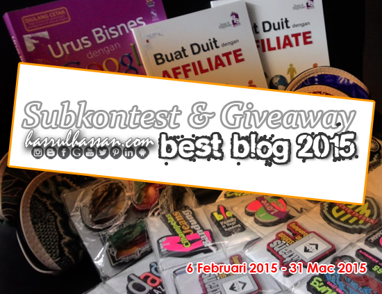 Senarai Peserta GA Malaysia Best Blog 2015