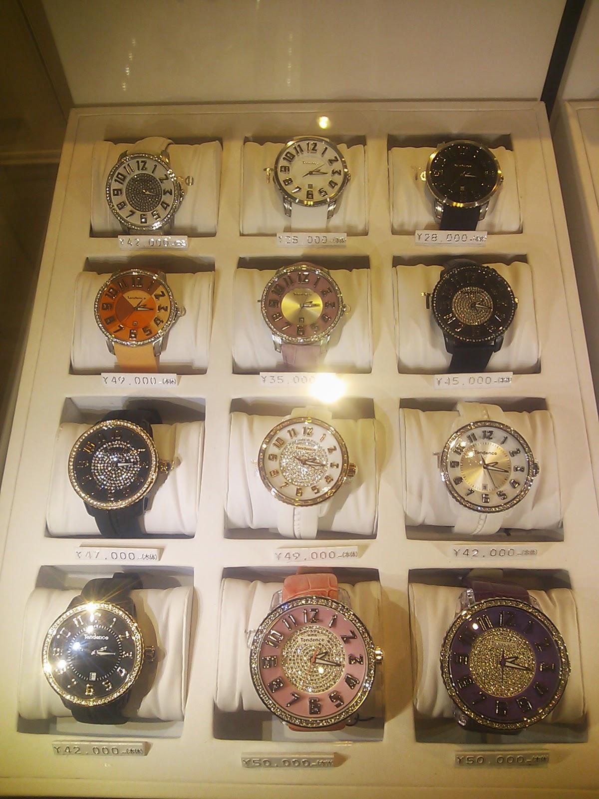 TENDENCE腕時計