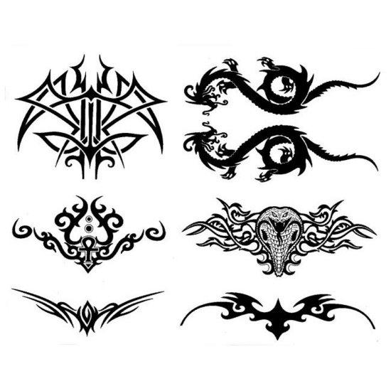 Tatuajes de dragones y serpientes