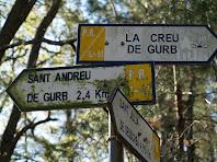 Indicadors del PR-C 41 el sender de Gurb