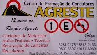 Centro de Formação de Condutores AGRESTE (84) 3281 2175