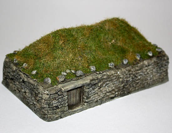The Man Cave Turf Roof House