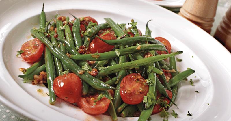 Recetas de cocina ensalada de espinacas y judias for Cocinar judias verdes