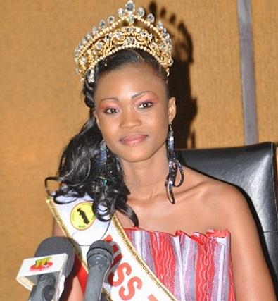 Miss Togo 2012 winner Camih Epiphanie Gantin