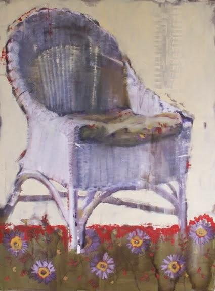 Simple Wicker Chair