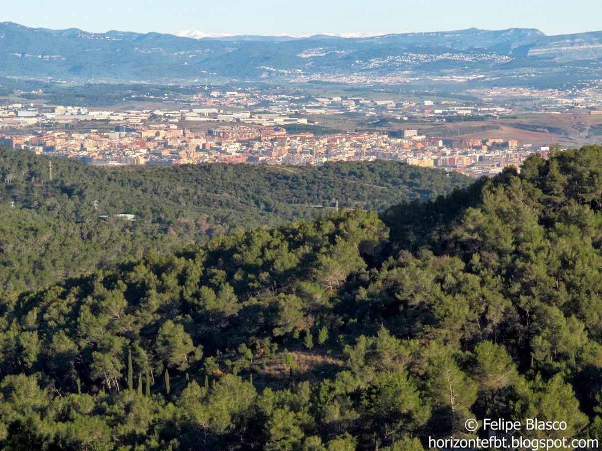 Los Pirineos desde Collserola