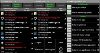 Android Titanium Backup