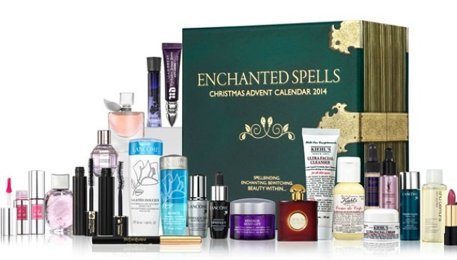 Selfridges beauty advent calendar 2014 enchanted spells