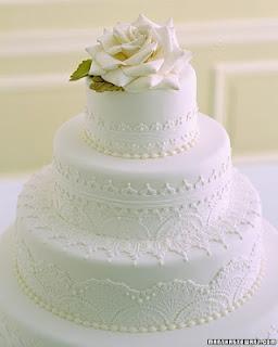 Good Style White Wedding Cakes