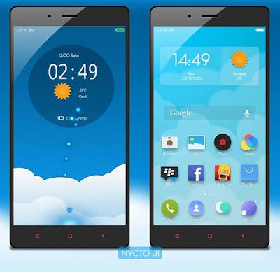 Tema Keren Untuk Xiaomi Nycto UI v2.1