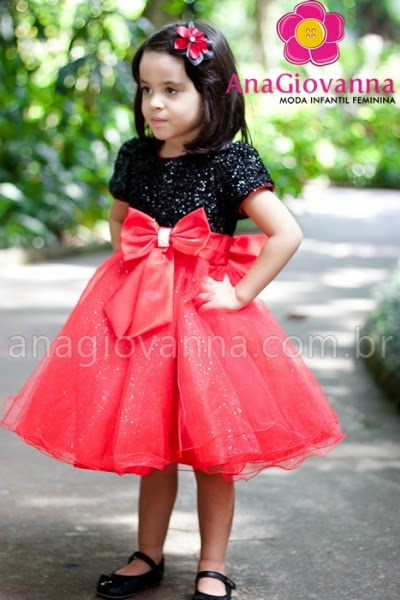 16 Vestidos infantis para o natal