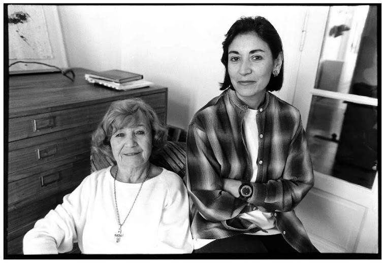 Alda Armagni y Matilde Marin