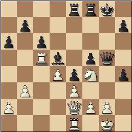 Partida de ajedrez Viladerbó vs. Pomar, Campeonato de España de 1946, posición después de 29.Cf4