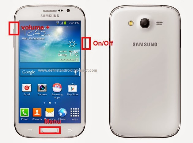 Samsung Galaxy Grand GT-I9082 Hard Reset