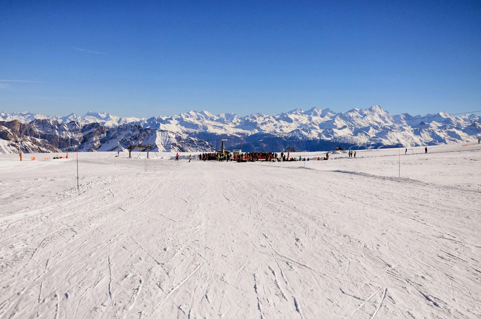 glacier 3000 ski area